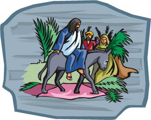 Palm Sunday Jesus-and-the-Triumphal-Entry