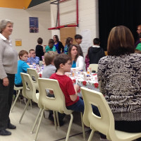 Christmas Feast at Buckhorn School