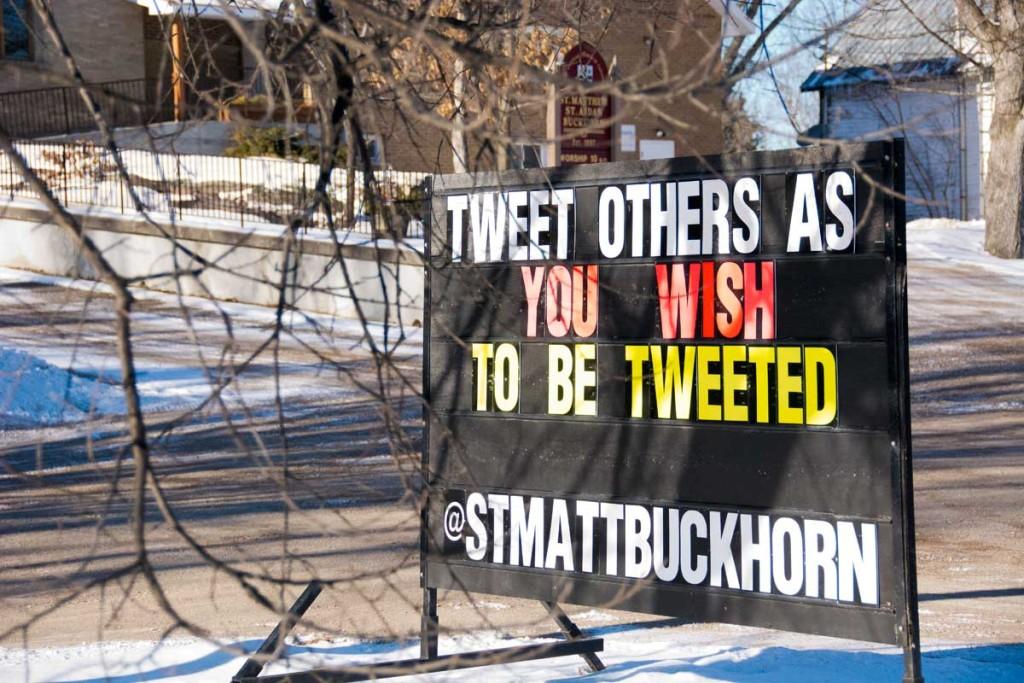 Tweet others as …