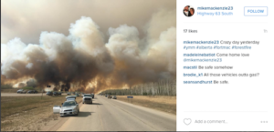 Anglicans reach out to victims of Fort McMurray wildfire