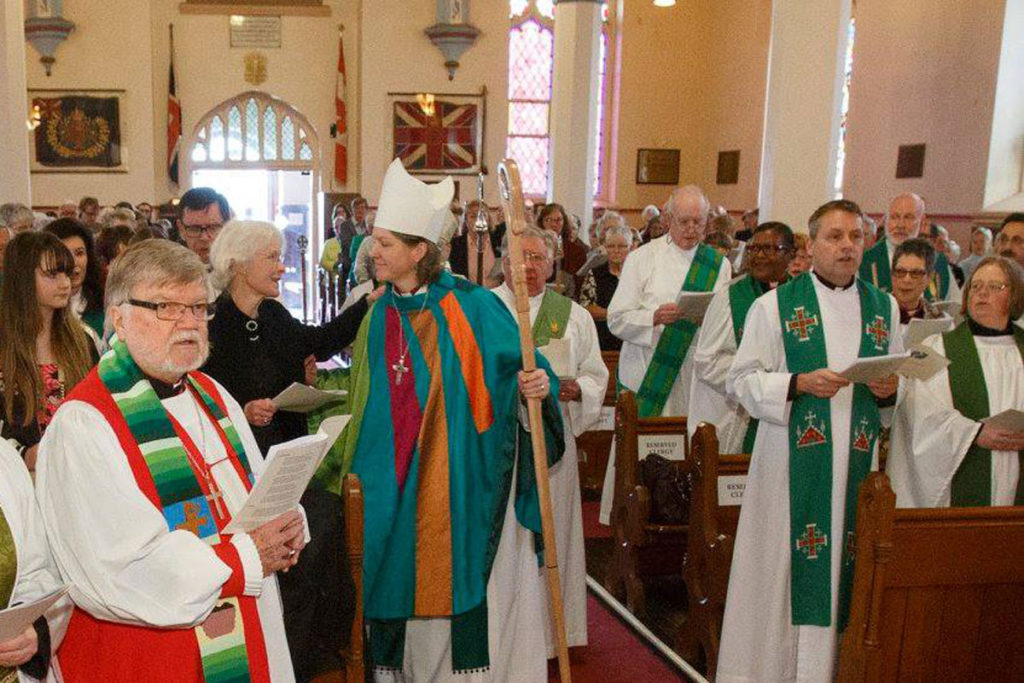 Area Bishop installed for Trent-Durham
