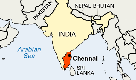 Chennai was formerly known as Madras