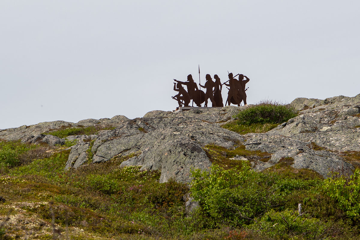 Vikings on patrol - L'Anse aux Meadows NL